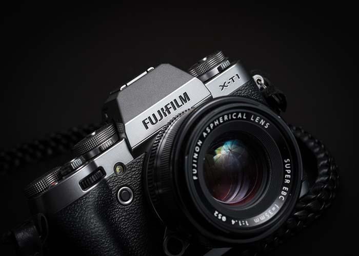 Ảnh chụp gần mặt trước từ Fujifilm X-T1