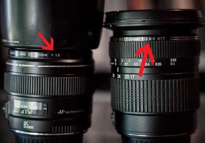 ống kính máy ảnh