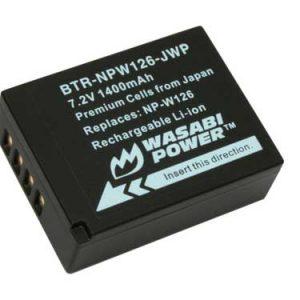 Pin sạc Wasabi NPW126-JWP