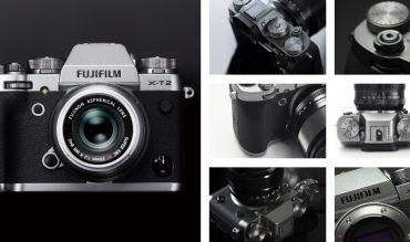 Fujifilm X-T2 phiên bản màu xám bạc đặc biệt