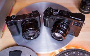 So sánh chi tiết Sony Alpha A6300 và Fujifilm X-Pro 2